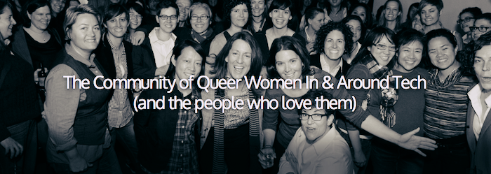 Pittsford Conference - The Community of Queer Women In & Around Tech